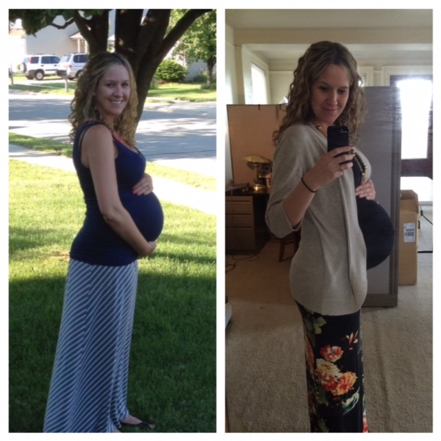 37 week comparison